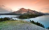 Обои интересах рабочего стола: гора, народный парк, alberta, waterton lakes national park, canada, озеро, лес