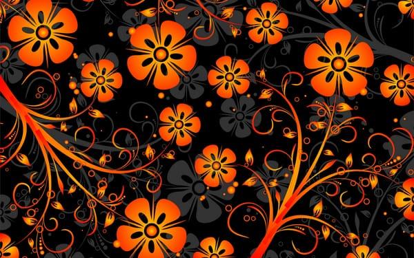 обои оранжевого цвета на рабочий стол № 648157 бесплатно