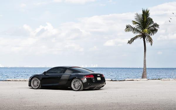 Audi песок дорога  № 2442066 бесплатно