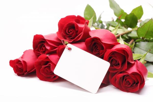 Поздравления к цветам в подарок