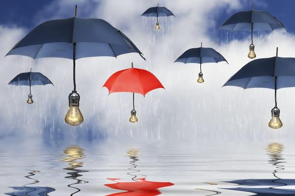 обои картинки фото зонты на рабочий стол № 253436  скачать