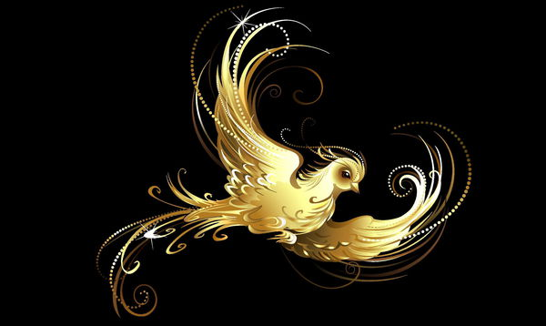 Картинки золотой рисунок