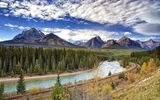 Обои: Bow River, Canada, река, горы