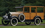 Обои: Ford Model A Woody Station Wagon '1929