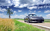 Обои: Porsche, Gemballa, Cabriolet, Carererra-S, 991, Grass, Tuning, GT, Colouds, Sky