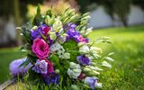 Обои: эустома, flowers, букет, цветы, eustoma, bouquet