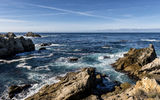Обои: море, горизонт, California, камни, Carmel-by-the-Sea