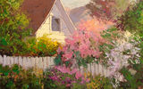 Обои: Sean Wallis, Light Peaking Through, арт