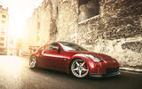 Обои: Nissan, red, 350z, tuning