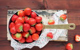 Обои: strawberry, ягоды, fresh berries, клубника