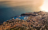 Обои для рабочего стола: Monaco, Principaute, Monte Carlo, Landscape, Sea, South, Rocher