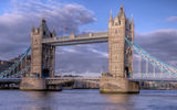 Обои для рабочего стола: tower bridge, Англия, мост, облака, небо, река, Лондон