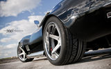 Обои: Chevrolet, небо, облака, black, Corvette, задняя часть, корвет, C3, 360 three sixty forged, чёрный, шевроле