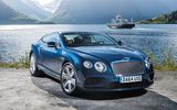 Обои: 2015, континенталь, бентли, Bentley, Continental, GT, V8, синий