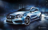 Обои: 2012, мерседес, A-class, w176, Mercedes-Benz