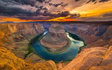Обои: Horse shoe bend, каньон, colorado river, red dessert, природа, река, arizona