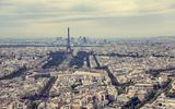 Обои: france, Eiffel Tower, Эйфелева башня, paris, Франция, sky, горизонт, небо, здания, buildings, Эйфелева башня, Париж, skyline, Tour Eiffel