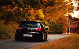 Обои: auto, осень, Golf, Volkswagen, дорога, cars, Gti, листья, cars walls, wolkswagen golf
