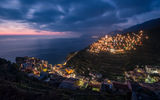 Обои: Lights, Manarola, Italy