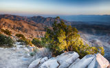 Обои: камни, US, Coachella Valley, пустыня, Joshua Tree National Park, кусты, горы, California