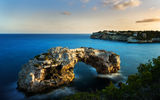Обои: арка, скалы, Cala Santanyi, море, Balearic Islands, Mallorca