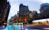 Картинки на телефон: бродвей, broadway, new york, usa, nyc, нью-йорк, rainy night, Slick streets