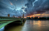 Обои для рабочего стола: england, london, river thames, Westminster bridge, вестминстерский мост