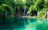 Обои: природа, водоём, waterfalls in croatia, водопад