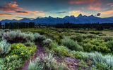Обои для рабочего стола: wyoming, grand teton national park, jackson hole
