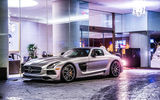 Обои для рабочего стола: mercedes-benz, 63 amg, black series, c197, silvery, sls