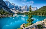 Картинки_для_телефона: пейзаж, banff national park, горы, озеро, moraine lake