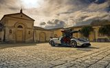 Обои: pagani, bc, sport car, huayra, silver, super car, ultra-light