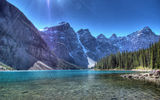 Обои: горы, alberta, banff national park, canada, альберта, озеро морейн, valley of the ten peaks, озеро, канада, банф, moraine lake