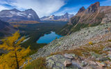 Обои для рабочего стола: british columbia, lake ohara, yoho national park