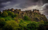 Обои для рабочего стола: scotland, edinburgh castle, great britain, edinburgh, west end