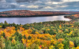 Обои для рабочего стола: canada, algonquin park, rock lake in fall, booth rock trail, ontario