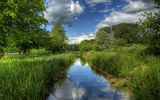 Обои для рабочего стола: england, reflection, river, stcross, itchen, near, uk, winchester