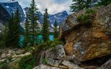 Обои: canada, alberta, banff national park, moraine lake