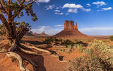 Обои: Monument Valley, штат Юта, пейзаж, горы, скалы