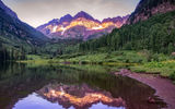 Обои: Maroon Lake, Colorado, Maroon Bells