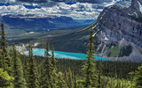 Обои для рабочего стола: Lake Louise, Banff National Park, Canada, Alberta