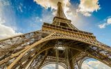 Обои для рабочего стола: Eiffel Tower, France, Paris, Эйфелева башня, Франция, Париж