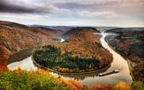 Обои: Mettlach, German, Horseshoe Bend, Bend of the river