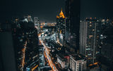 Обои для рабочего стола: cityscape, longexposure, city, night, bangkok, portrait, fullframe, travel, bkk, wideangle, man, woman