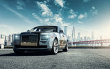 Обои: Rolls Royce Ghost, мост, car