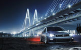 Обои: Volkswagen, Front, Low, Bridge, Golf R, Car, Night