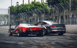 Обои для рабочего стола: Lamborghini Miura, Rear, Drift, Ford Mustang RTR, Cars, by Khyzyl Saleem