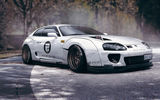 Обои для рабочего стола: Toyota, Supra, White, by Rain Prisk, Hatchback, Design, Sport, Car