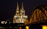Обои: Кёльн, Kölner Dom, мост, Рейн, церковь, Hohenzollern Bridge, Германия, город, Köln, Cologne, ночь, Rhein, Cologne Cathedral, Hohenzollernbrücke, свет, Кёльнский собор, Deutschland, Germany, река