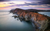 Обои: Point Reyes National Seashore, остров, Chimney Rock, океан, California